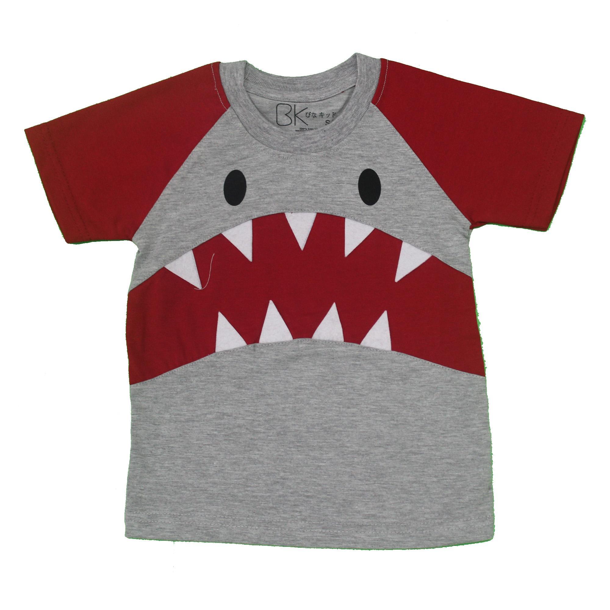 6 bln - 2 thn - Echo Kids - Pakaian Baju Kaos Katun Anak Laki Cowo