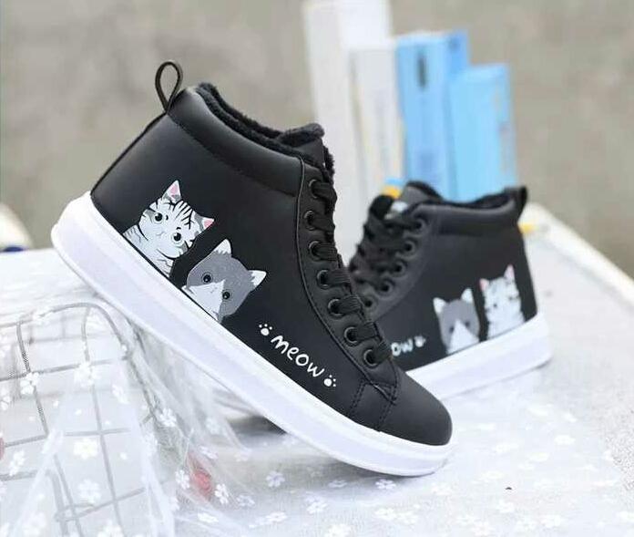 Sepatu Sekolah Lucu - Sepatu Sekolah Keren - Sepatu Ankle Boot TD38 - ANGEL  CLCT 4d3bc27221