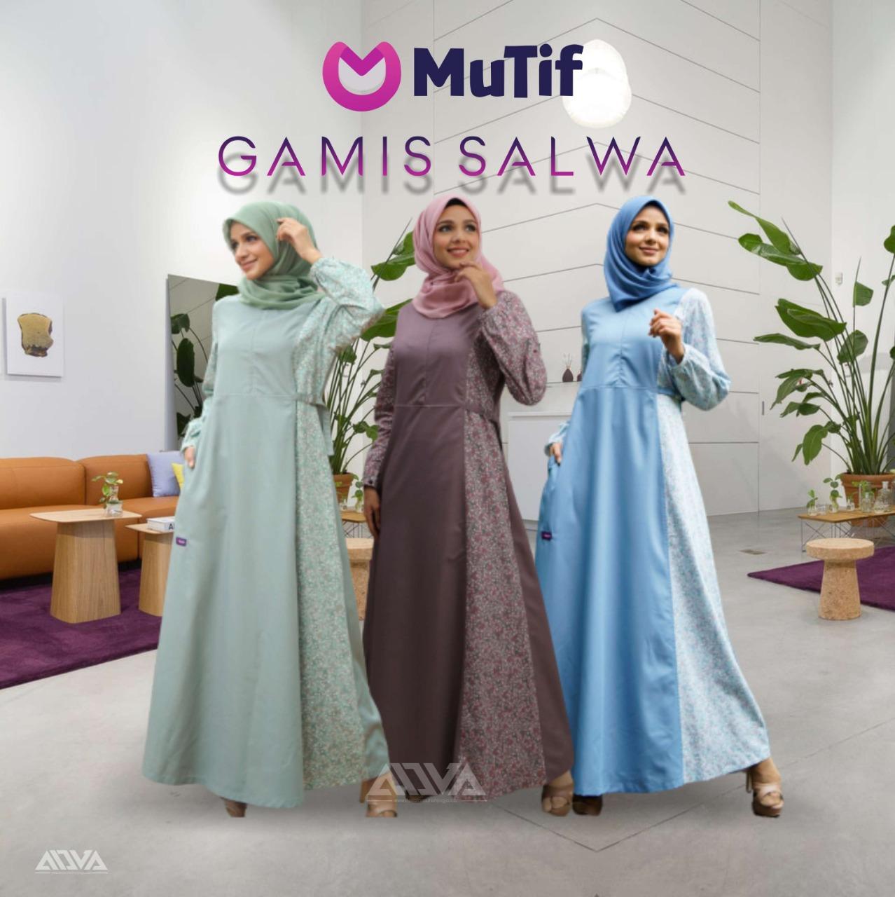 Gamis Katun Original Mutif Salwa New Arrival Lazada Indonesia
