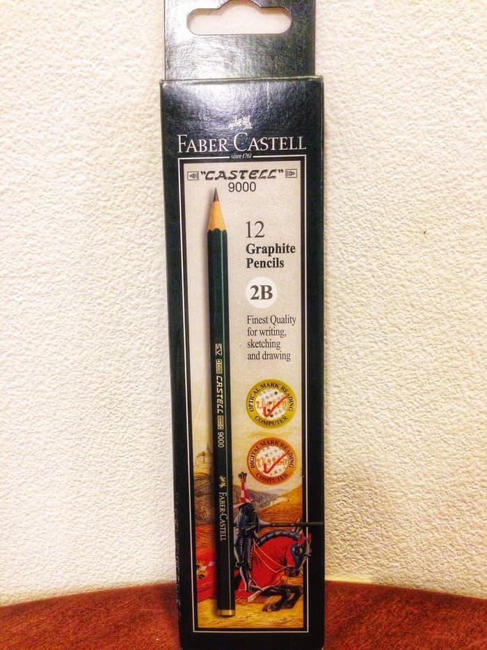 Pensil Faber Castell 2B (isi 12 pcs)