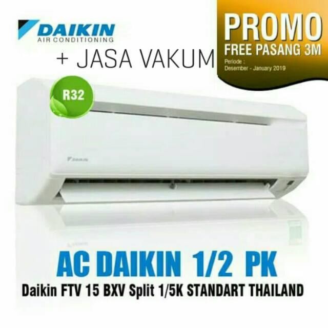 PROMO!!! AC DAIKIN Malaysia 1/2PK 1/2 PK 05PK 05 PK FTV 15BXV