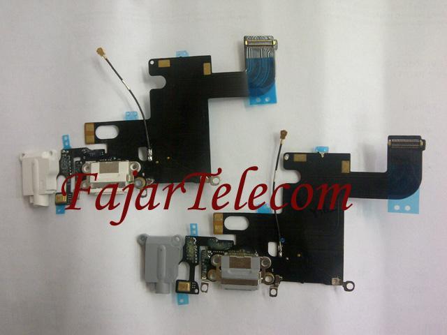 Fleksibel Konektor Charger Handsfree Mic Iphone 6 6G Model A1549 A1586 A1589 Original