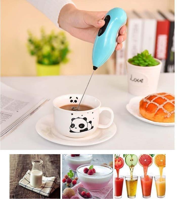 Bayar Di Tempat / Mixer Mini Elektrik Pengocok Kue Telur Cream Kopi / Mixer Mini Tangan