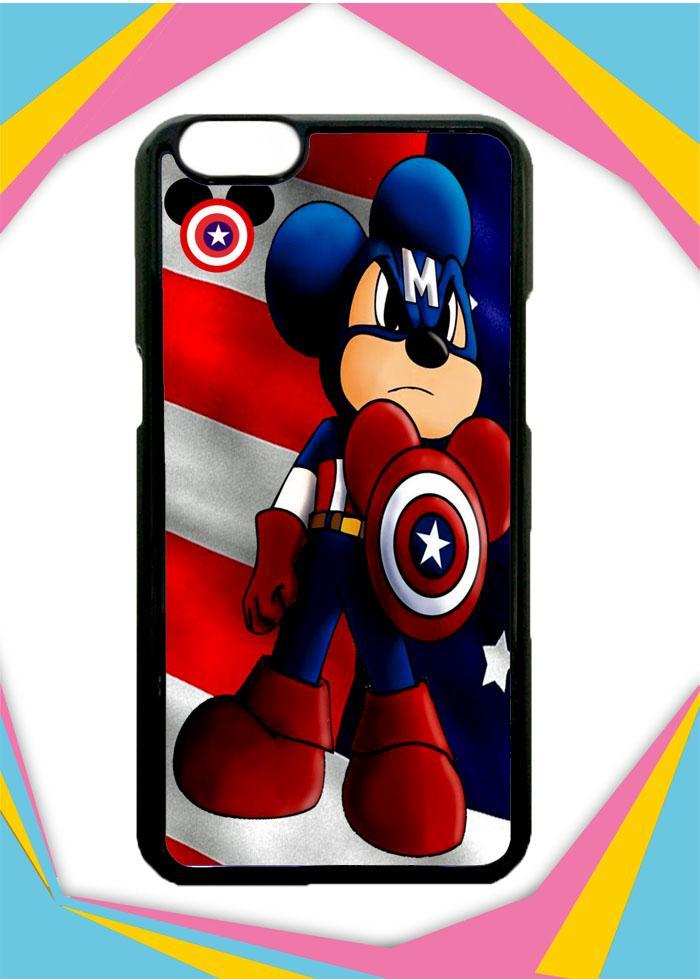 Casing Hardcase Custom OPPO A3S  mickey captain america Q0171 Case Cover