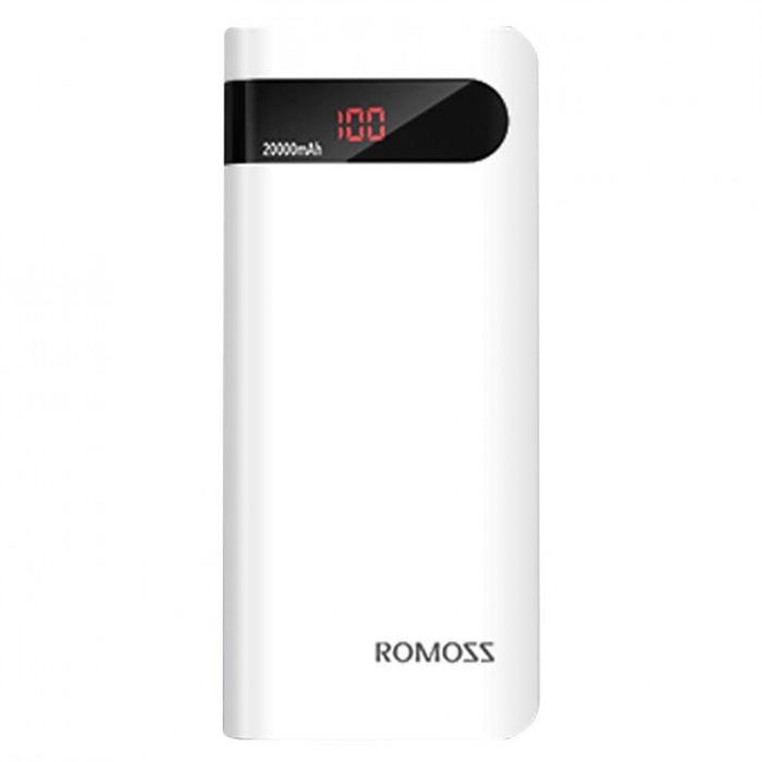 Romoss Sense 6P Power Bank 20000mAh dengan LCD Display 5V 2.1A (OEM)
