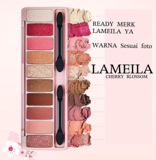 Mesh Lameila Play Color Eyes Eyeshadow Palette CHERRY BLOSSOM, WINE PARTY, JUICE BAR, ICE CREAM, IN THE COFFE - Lameila eye Shadow thumbnail