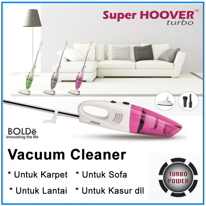 Bolde Super Turbo Hoover Vacuum Cleaner Home & Portable 2 in 1 Vacum Cleaner