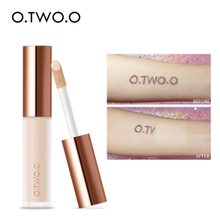 O.TWO.O 4 Color Liquid Concealer Cream Waterproof Full Coverage Makeup Opsional Makeup Cair thumbnail