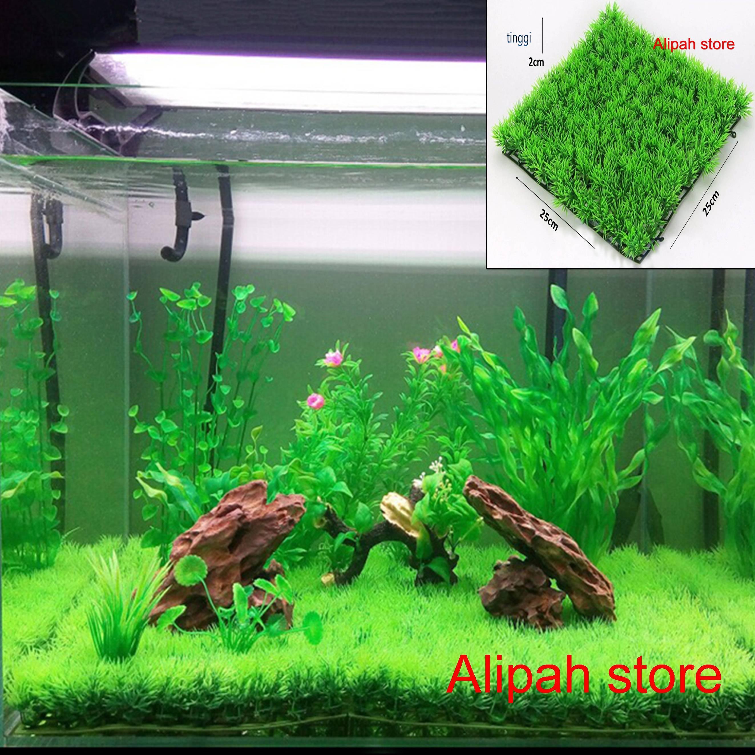 Rumput Sintetis Aquarium Lazada Indonesia Rumput sintetis untuk aquarium