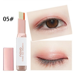 Novo Two Tone Color Eyeshadow Two Colors Ombre Eye Shadow Bar Stick Original thumbnail