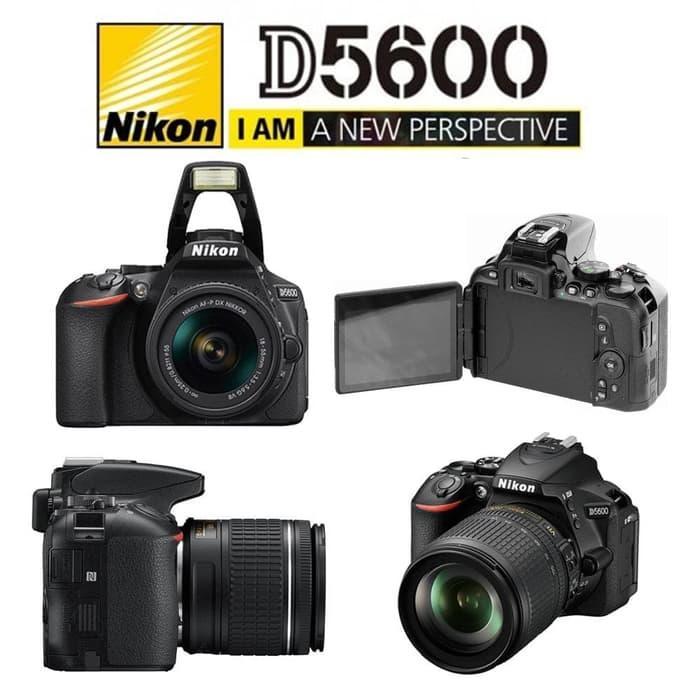 Nikon D5600 Kit AF-P 18-55mm VR Paket BONUS - Camera DSLR