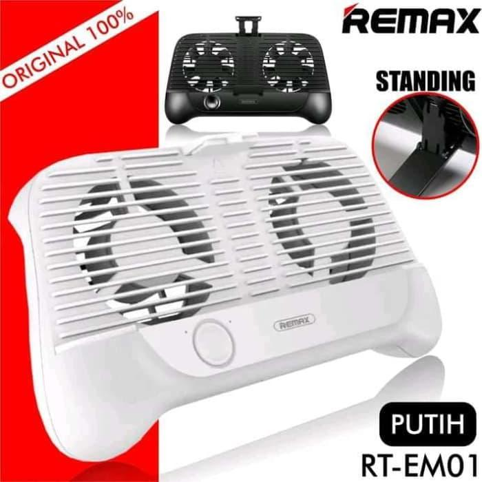 Best Buy Remax Smartphone Cooling Gamepad RT-EM01 Stand Pad -