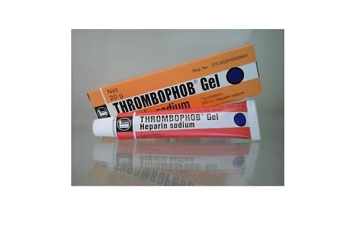 Best Price! Thrombophob Gel 20G / Heparin Sodium / Salep Memar / Trombopop