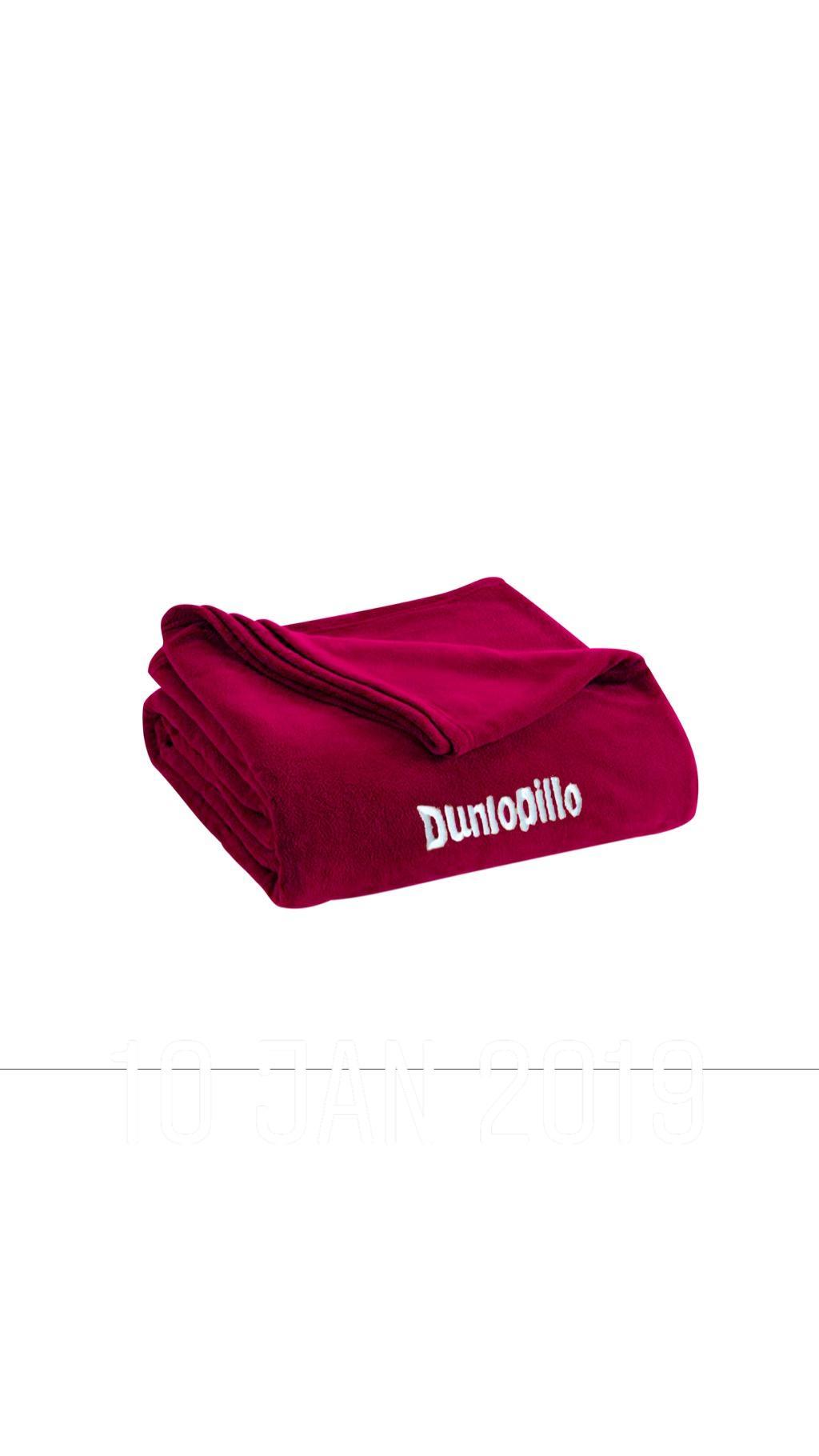 Dunlopillo Thermal & Travel Blanket / Maroon RED
