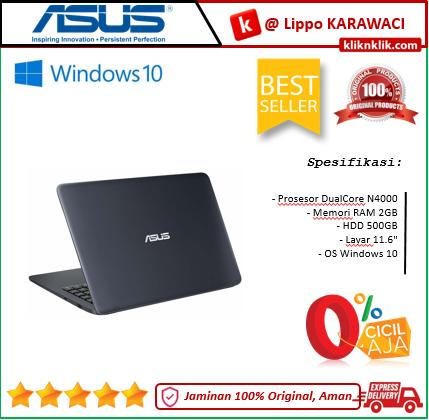 ASUS E203MAH-FD011T DualCore N4000-2GB-500GB-11.6