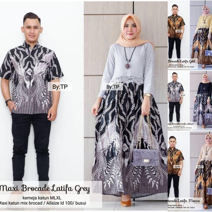 Batik Couple Batik Couple Muslim Batik Pria Batik Wanita Baju Pasangan Gamis Muslim Pakaian Muslim Gamis Sarimbit Baju Gamis Batik Batik Muslim Gamis Batik Gamis Kondangan Gamis Batik Couple Batik Couple Muslim Latifa Lazada Indonesia