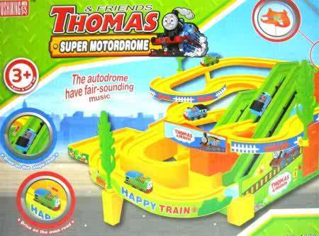 Track Racer Thomas Super Motordrome By Aneka Mainan Online.