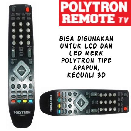 POLYTRON - Remote TV POLYTRON Original 100% LCD LED.