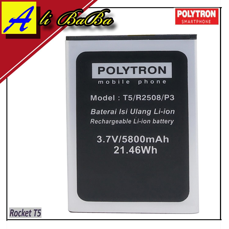 Baterai Handphone Polytron Rocket T5 R2508 PL-8Y5 Double Power Polytron Batre HP Polytron R2508