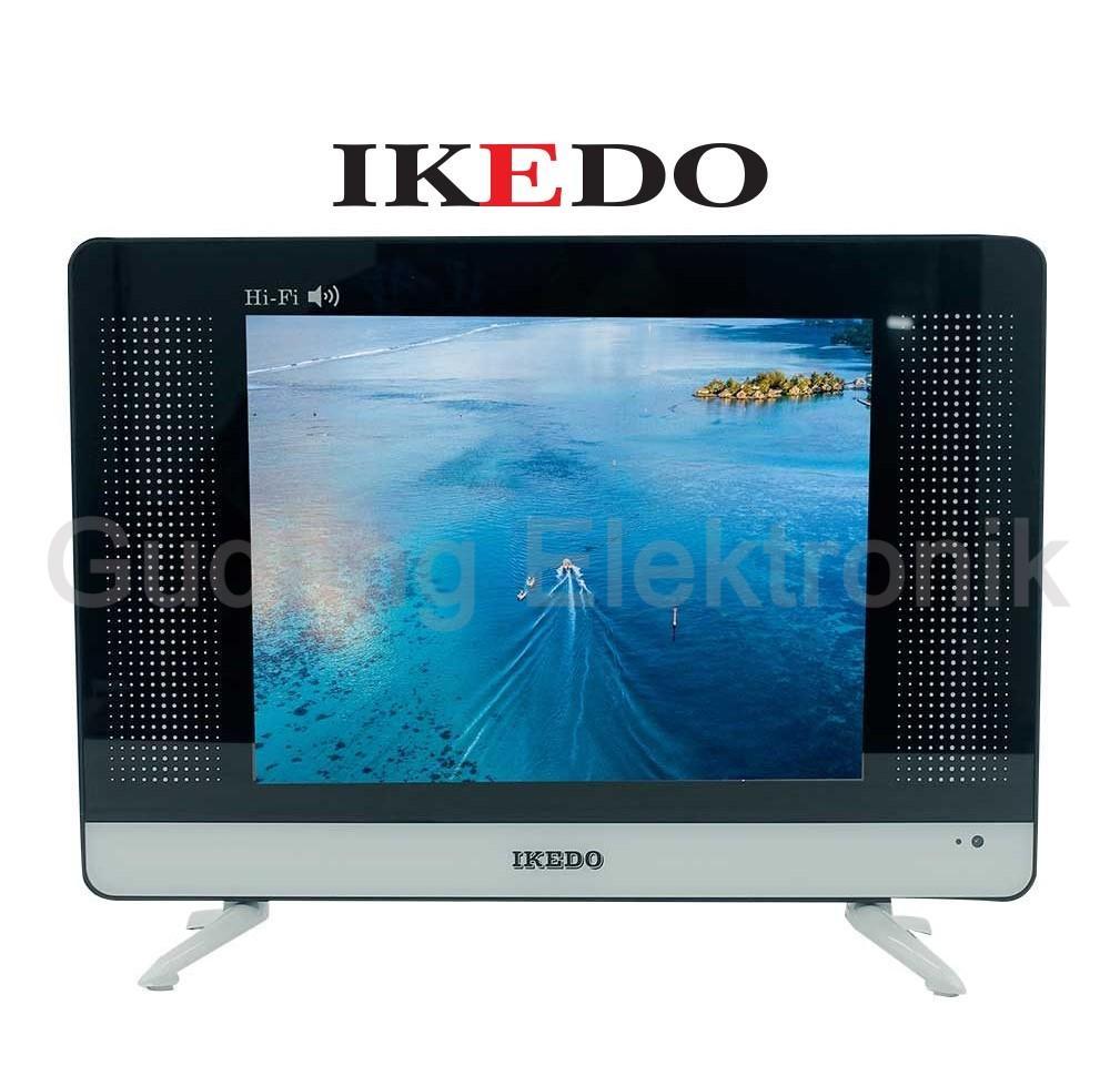TV LED 15 Inch IKEDO LT-15M1W USB Movie Ready HARGA PROMO