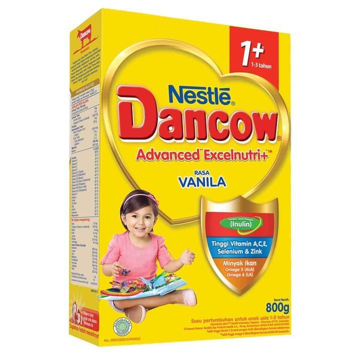 Dancow 1+ Vanila 800gr By Sepatu Aku.