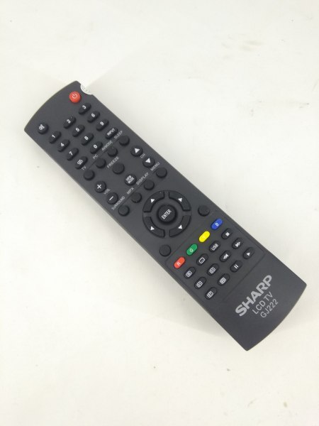 Remot Remote TV Sharp Aquos LCD LED GJ222 Original Pabrik / KW