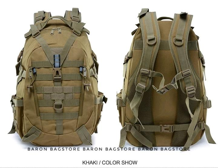 Ransel Loreng Army Tas Tentara Tas model korea Tas Lapangan - Coklat