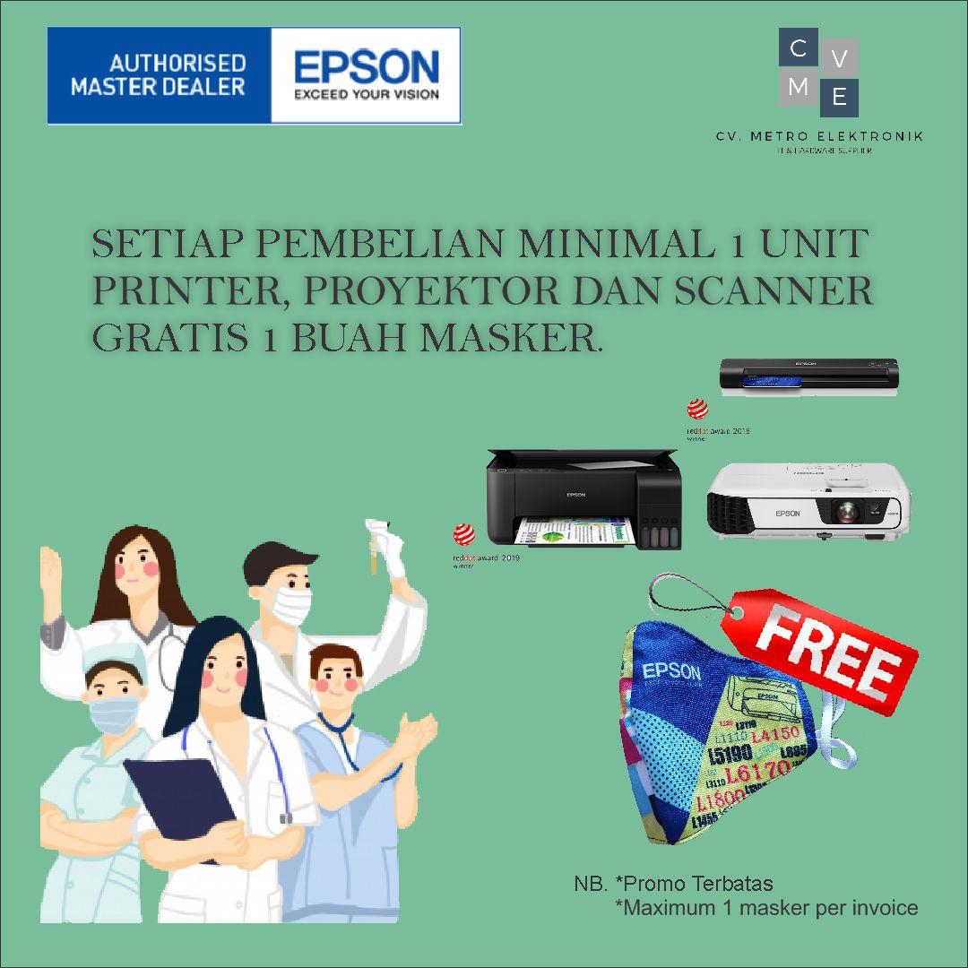 Printer Epson L6160 L-6160 L 6160 Wi-Fi Duplex All-in-One Ink Tank Printer GARANSI RESMI DENGAN PACKING KAYU