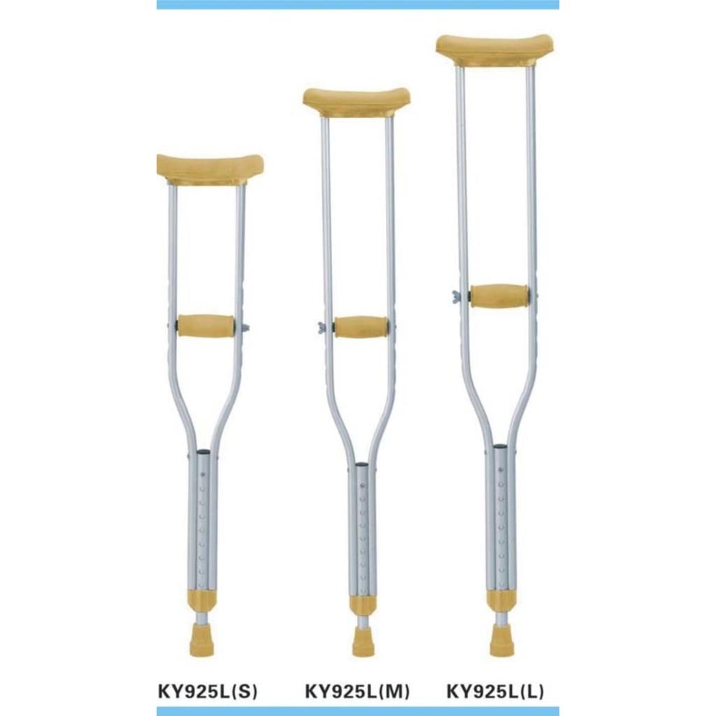 Sella Crutch Tongkat ketiak Alat Bantu Jalan Kruk Sella (sepasang)