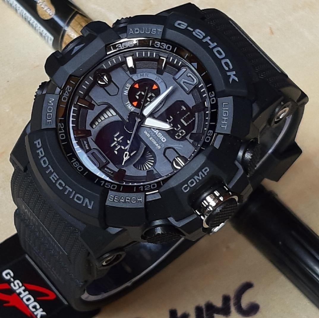 casio g shock 1013 Jam Tangan Pria dual time rubber strap 47725e5879