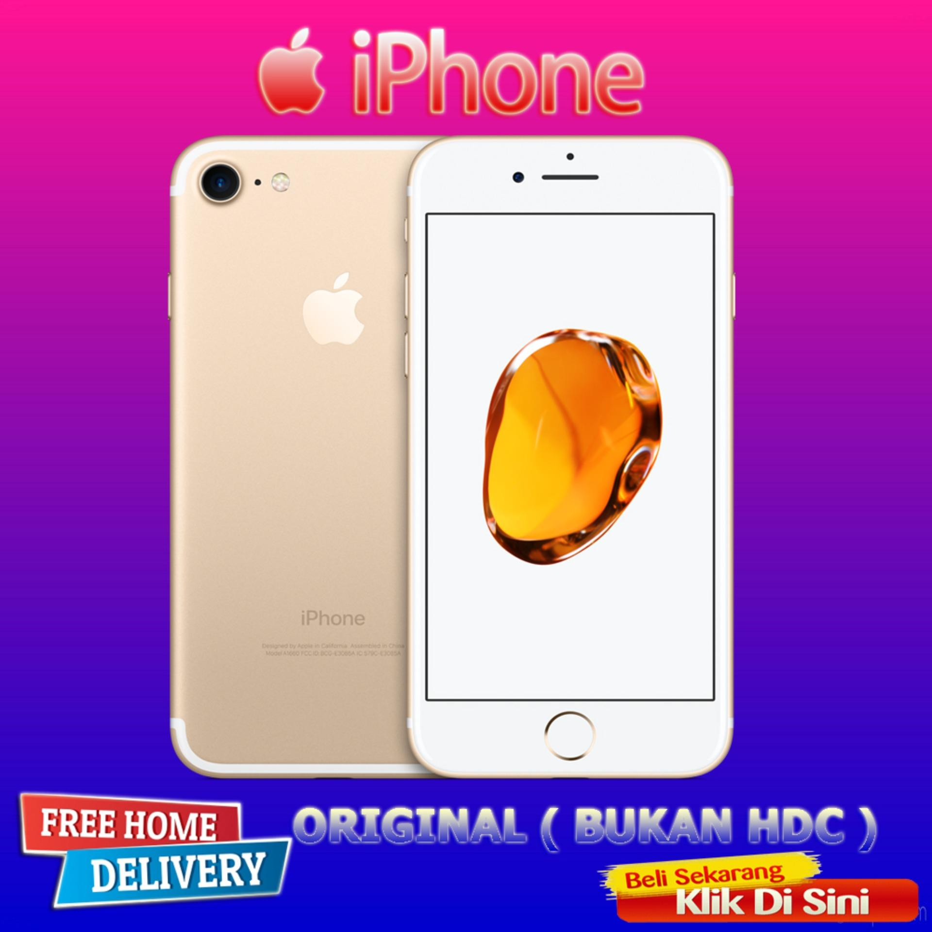 New Apple Iphone 7 - 128GB GOLD - Garansi 1 Tahun