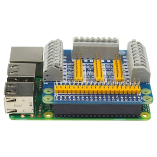 GPIO Expansion Board Extension Module for Robot DIY Experiment Test Compatible Raspberry Pi 4B 3B+ 3B thumbnail