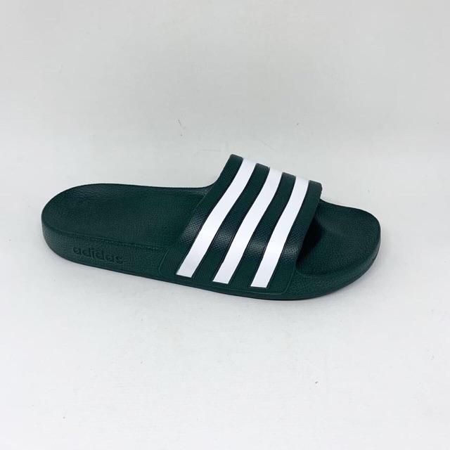 Kicosport Sendal adidas Adilette aqua sandal hijau putih original new 2019