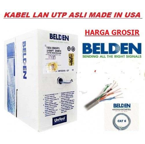 Harga Grosir-Kabel LAN UTP BELDEN Made in USA Cat-6 305M