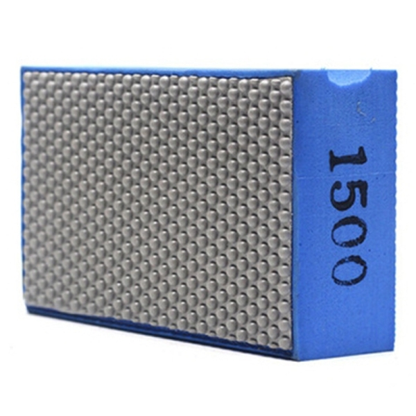 Diamond Hand Polishing Pad for Stone Glass Ceramic Marble Granite ,90x55mm