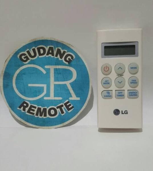 Remote remot AC LG jetcool,hercules,terminator,dll