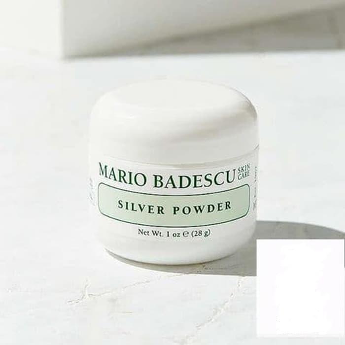 Mario Badescu Bedak Komedo Wajah Silver Powder - 28gr
