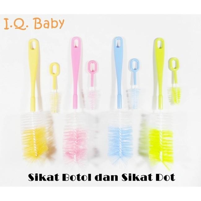 Sikat Botol Susu IQ Baby kz 2070 dpt kecil Pembersih Dot Bayi
