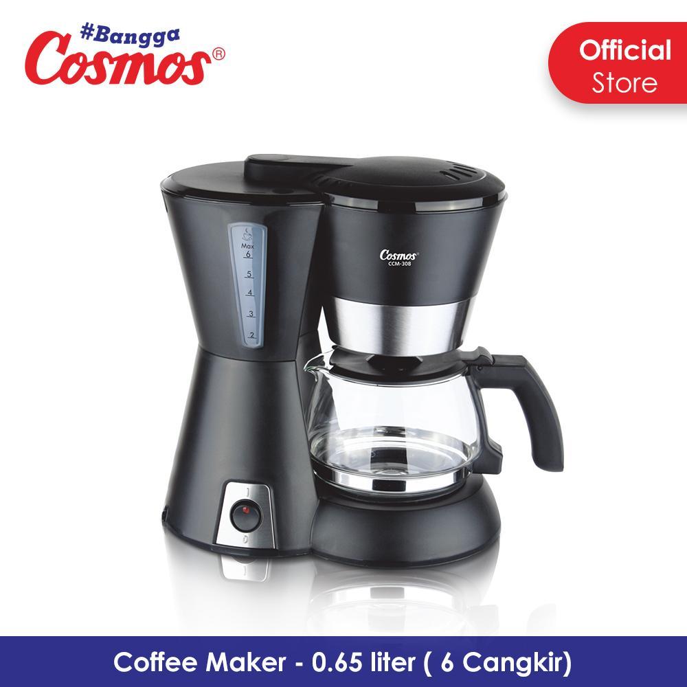 Cosmos Coffee Maker - CCM-308 - Black
