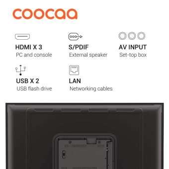 COOCAA Smart LED TV 50 inch 4K UHD Netflix&Youtube Built-In - Ultra HD- Wifi (Model 50S3N) ORIGINAL
