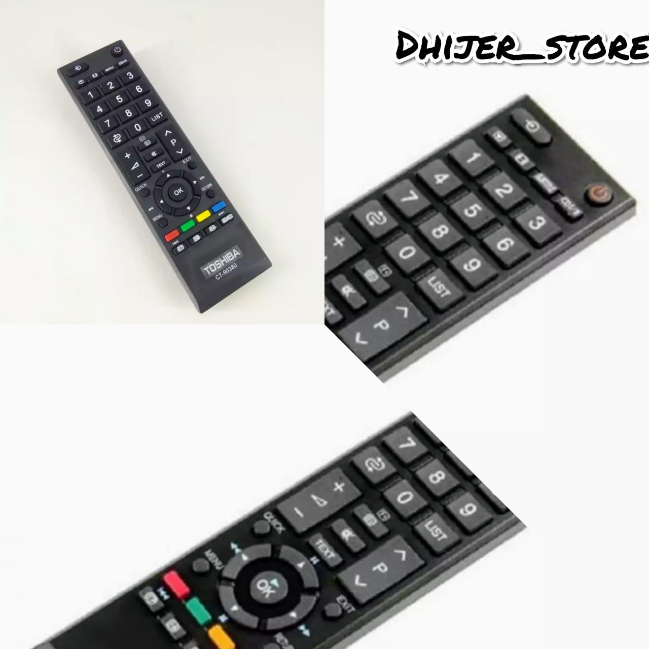 Remote TV Toshiba LCD LED - Toshiba Original Remote TV Dhijer_store