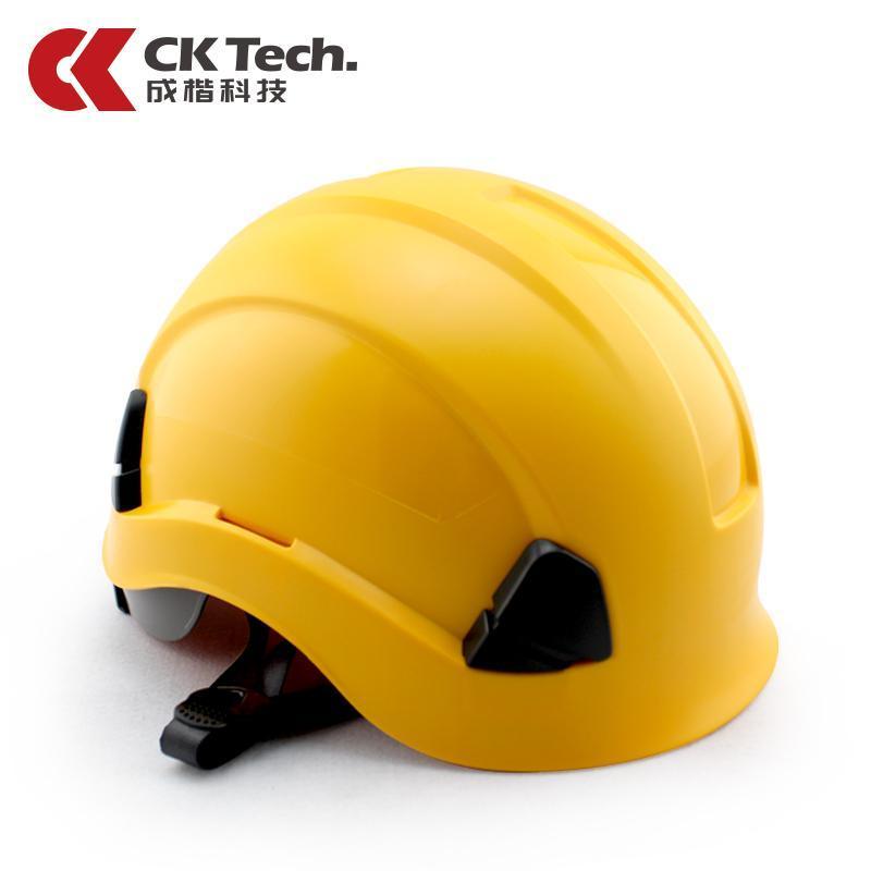CK Tech. Safety Helmet Construction Site Labor Safety Helmet ABS Construction Site Construction Safety Helmet Electric Power Smashing Helmet