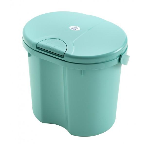 Rotho Nappy Pail Top - Curacao Blue By Babyzania.