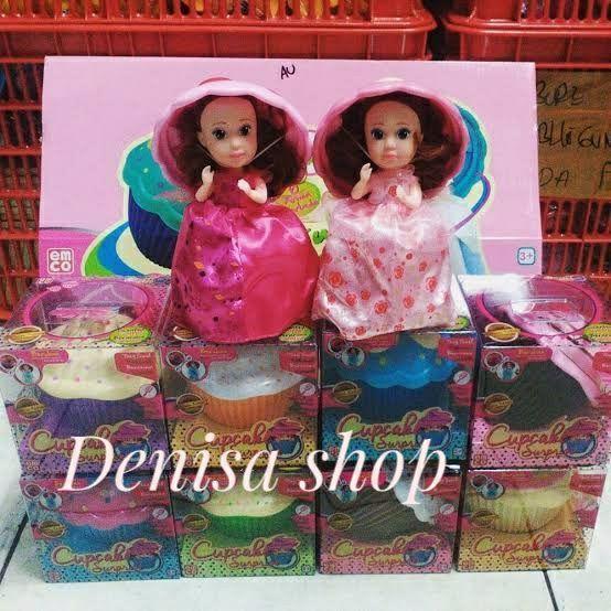 Mini Cupcake Princess Surprise Doll Mainan Anak Perempuan Unik Berubah 59bd5ec221
