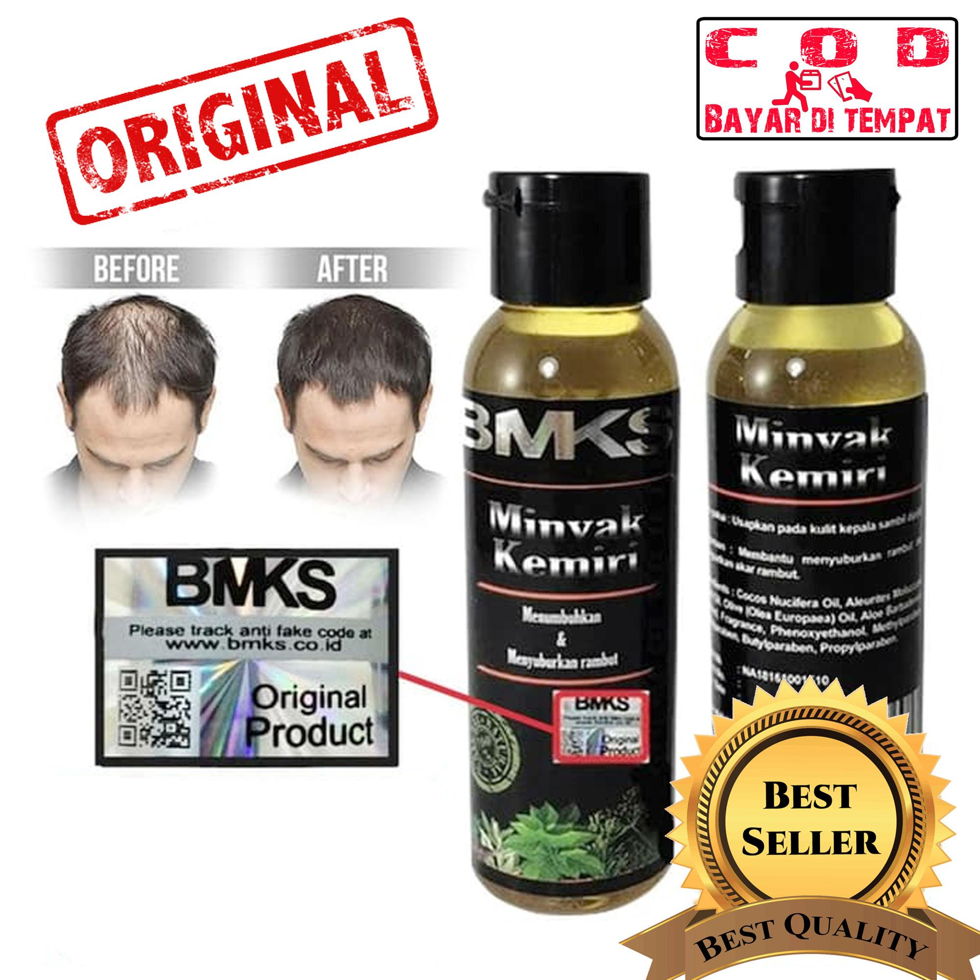 BMKS - Minyak Kemiri Penumbuh Rambut Original 100% Asli Kemiri - ( Minyak Kemiri BPOM
