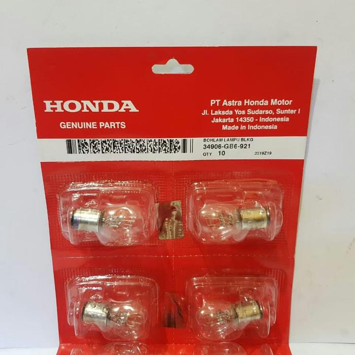 Bohlam Belakang HONDA / Lampu Stop Belakang Honda BeAT,Spacy FI,Supra X,scoopy 34906-GB6-921