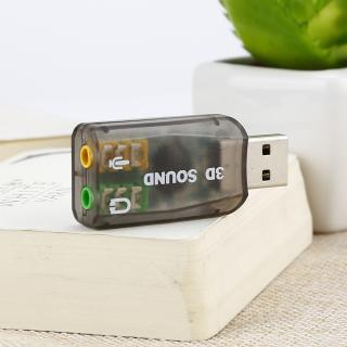 [Giá Thấp Nhất] [Bán Chạy] Tai Nghe USB Sang Âm Thanh Stereo Tai Nghe Bộ Chuyển Đổi Âm Thanh Thẻ Chuyển Đổi 7.1 Thẻ thumbnail