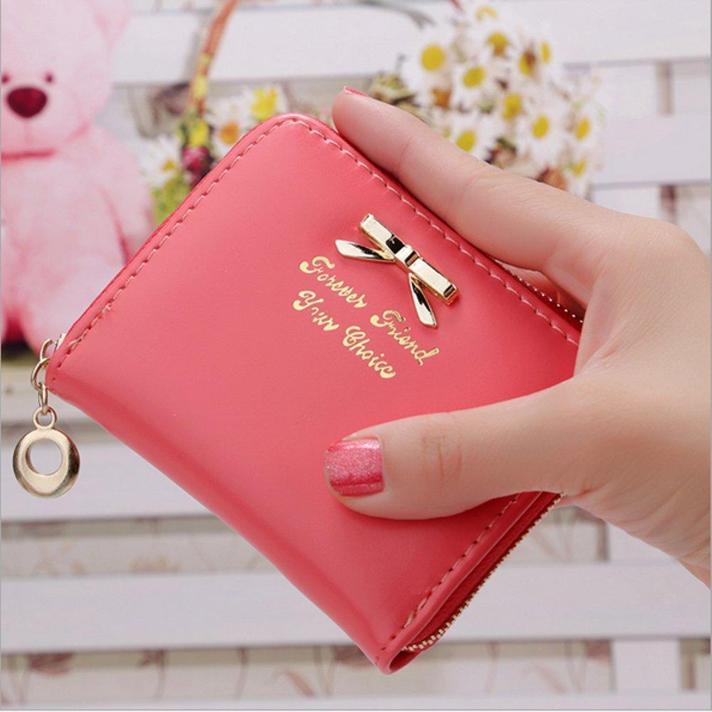 Vagansa Dompet Koin Mini Korea Motif Pita / Mini Ribbon Coin Pouch Korea By Vagansashop.