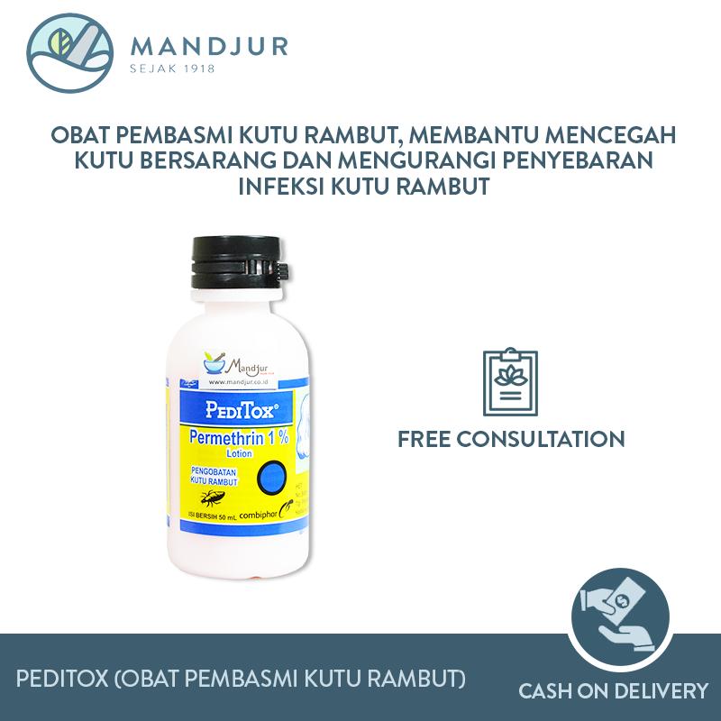 Peditox Obat Pembasmi Kutu Rambut Lazada Indonesia