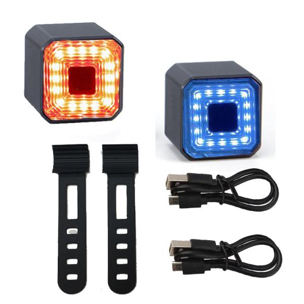 Maxxlite【Ready Còn Hàng】đèn Lồng Cảnh Báo Phía Sau Xe Đạp Đèn LED Đuôi Xe Đạp An Toàn Chống Nước Sạc Được Cổng USB Đèn Hậu Xe Đạp Thủ Công Thông Minh Thiết Bị Ngoài Trời Bền Mực Chống Nước IPX4